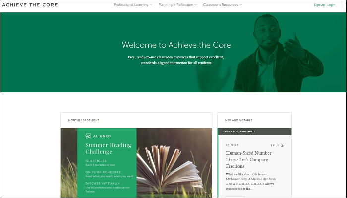 Getting Started, Moving Forward, Part 3: More from Achieve the Core!