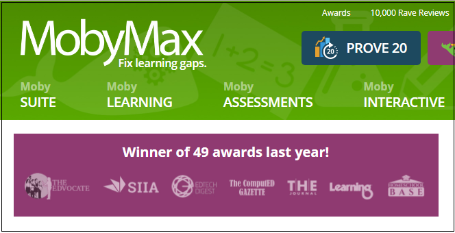 Distance Learning Platform Spotlight: Moby Max