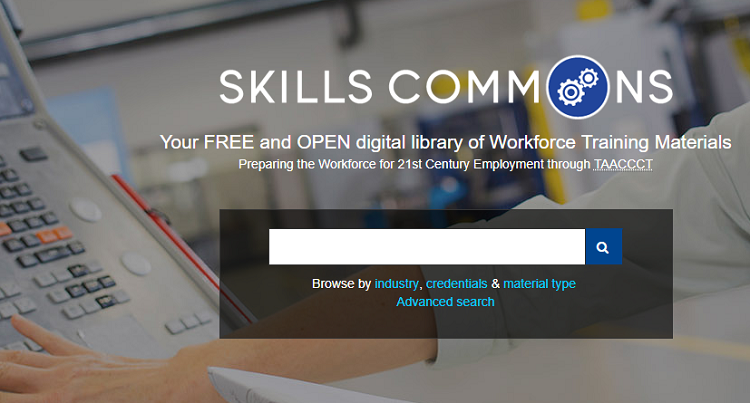 Skills Commons for Developing a Future Pathway