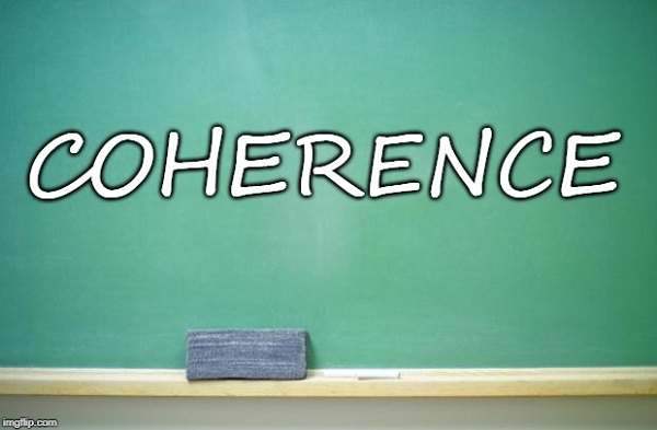 Tying Together ESL and Numeracy: Coherence Part 1