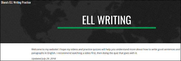 Diana's ELL Writing Practice: A FREE Website for ABE/ESL Teachers and Students