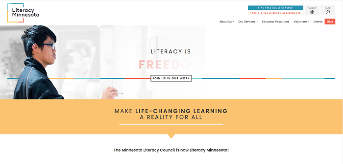The Minnesota Literacy Council Has Become Literacy Minnesota
