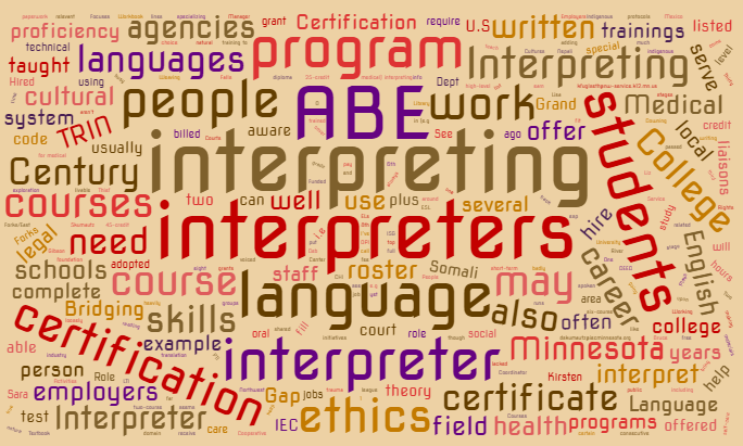 Language Interpreter: Potential Career Pathway for Our Learners