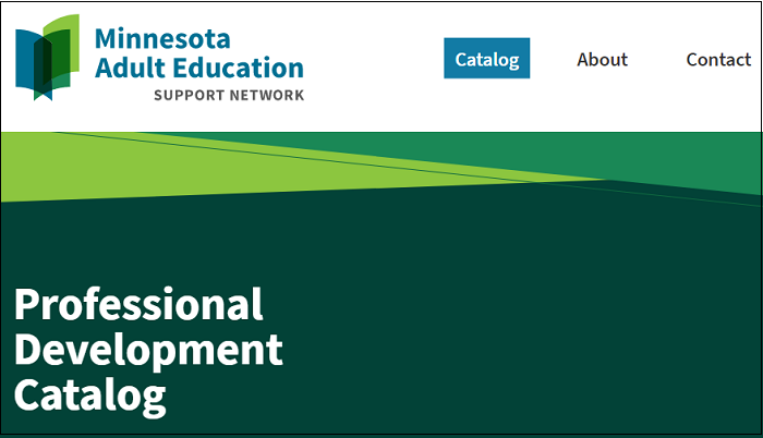 Introducing the Minnesota Adult Education PD Catalog!