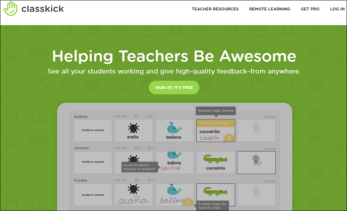 Using Classkick in the Virtual ABE Classroom